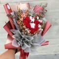 Adoration - Preserve Flowers Hand Bouquet