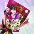Lavish - Preserve Flowers Hand Bouquet