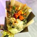 Summer - Preserve Flowers Hand Bouquet