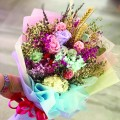 Sweetness - Preserve Flowers Hand Bouquet