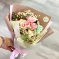 Pleasing - Preserve Flowers Hand Bouquet