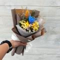 Delicate- Preserve Flowers Hand Bouquet