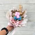 Delightful - Preserve Flowers Hand Bouquet